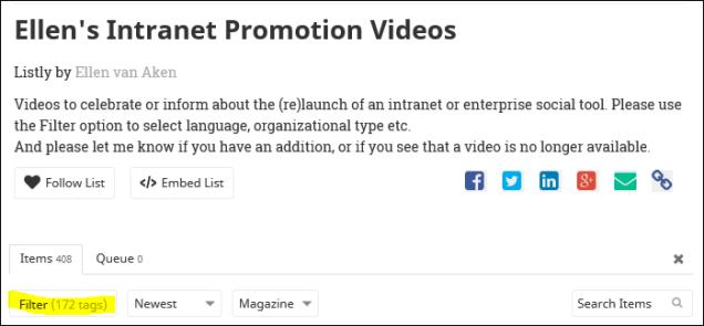 Videos-filter