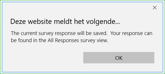 Survey-messageforsaving