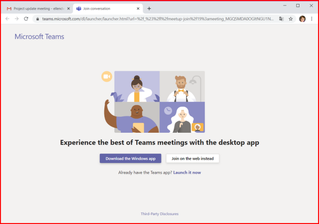 Teams-gmail-chrome