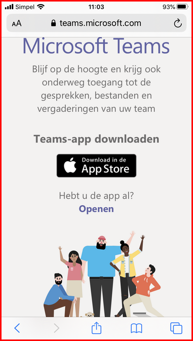 Teamsclient-iphonedownload
